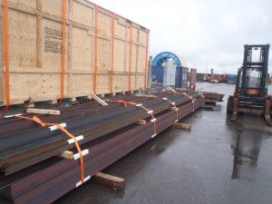 TCI OOG Cargo beams