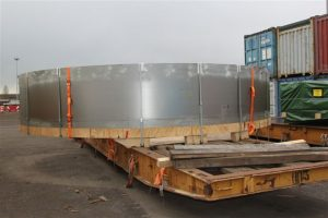 TCI OOG Cargo forged rings