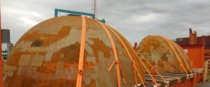 TCI OOG Cargo spherical heads