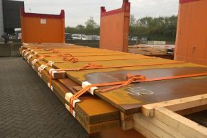 TCI OOG Cargo steel plates